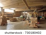carpentry shop | Shutterstock . vector #730180402
