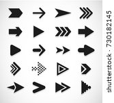 vector illustration of black... | Shutterstock .eps vector #730182145