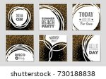 abstract vector layout...   Shutterstock .eps vector #730188838
