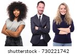 group of working people | Shutterstock . vector #730221742