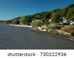 blankenese district in hamburg  ... | Shutterstock . vector #730222936