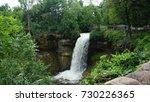 minnehaha fall | Shutterstock . vector #730226365