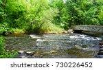 bridge minnehaha creek  | Shutterstock . vector #730226452
