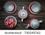 An Antique Set Of Ceramic...