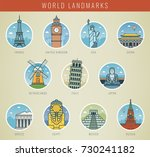 world landmarks travel and