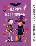 Happy Halloween Greeting Card...