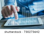 business analytics and... | Shutterstock . vector #730273642