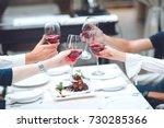 foie gras dish | Shutterstock . vector #730285366