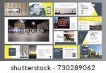 original presentation templates ... | Shutterstock .eps vector #730289062
