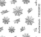 black seamless pattern with... | Shutterstock .eps vector #730328932
