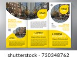 business brochure. flyer design.... | Shutterstock .eps vector #730348762
