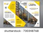 business brochure. flyer design.... | Shutterstock .eps vector #730348768