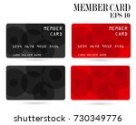 member card  business vip card  ... | Shutterstock .eps vector #730349776