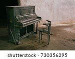 Old Piano In A Run Down Hall