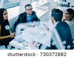 professional lawyers of company ... | Shutterstock . vector #730372882