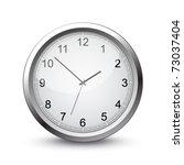 vector clock | Shutterstock .eps vector #73037404