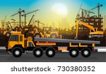 construction vector background...