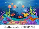 illustrations of the beauty of... | Shutterstock .eps vector #730386748