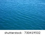 blue sea surface with waves .... | Shutterstock . vector #730419532