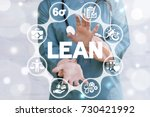 Lean Medicine Concept. Doctor...