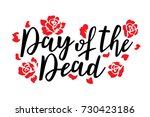 day of the dead vector... | Shutterstock .eps vector #730423186