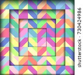abstract geometric background | Shutterstock .eps vector #730424986