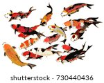 chinese traditional... | Shutterstock . vector #730440436