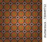 vector seamless abstract... | Shutterstock .eps vector #730449712