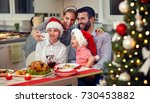 young smiling family taking... | Shutterstock . vector #730453882
