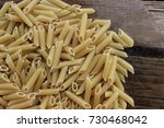 photo of a noodle texture... | Shutterstock . vector #730468042