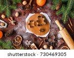 Gingerbread Cookies Preparation....