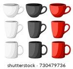 high detailed vector... | Shutterstock .eps vector #730479736