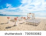 Romantic Wedding Ceremony On...