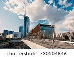 milan  italy   circa september  ... | Shutterstock . vector #730504846
