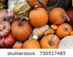 Display Of Pumpkins In Hot...
