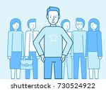 vector illustration in flat... | Shutterstock .eps vector #730524922