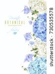 vector vertical banner with... | Shutterstock .eps vector #730535578
