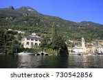 Small photo of George Clooney summer residence Villa L'Oleandra in Laglio at Lake Como in Italy on September 25, 2014