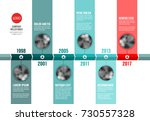 vector teal and red ... | Shutterstock .eps vector #730557328