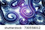 abstract helix texture... | Shutterstock . vector #730558012