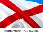 alabama flag. state of alabama. ... | Shutterstock . vector #730562806