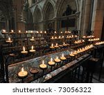 Prayer Candles Inside York...