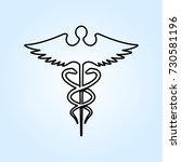 medical symbol icon | Shutterstock .eps vector #730581196