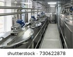 metal tanks  modern production... | Shutterstock . vector #730622878