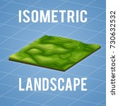 3d Isometric Map With...