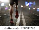 man running | Shutterstock . vector #730633762