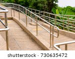 Stainless Steel Stairs On The...