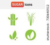 sugar cane sugarcane. sugar... | Shutterstock .eps vector #730640512