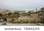 athens   march 6  2017. roman... | Shutterstock . vector #730642255