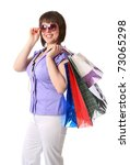 successful shopping improves... | Shutterstock . vector #73065298